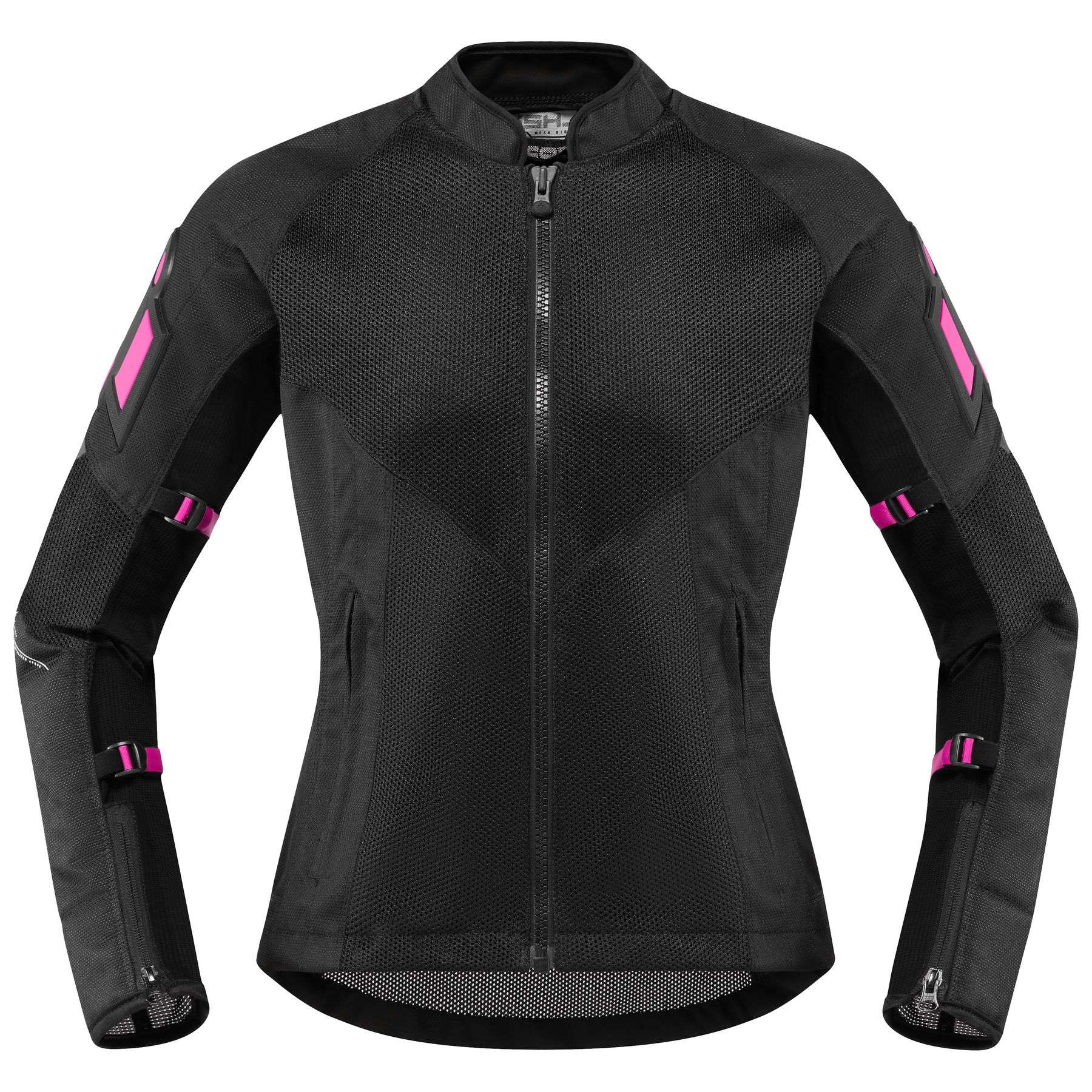 Icon Mesh AF women's black motorcycle jacket