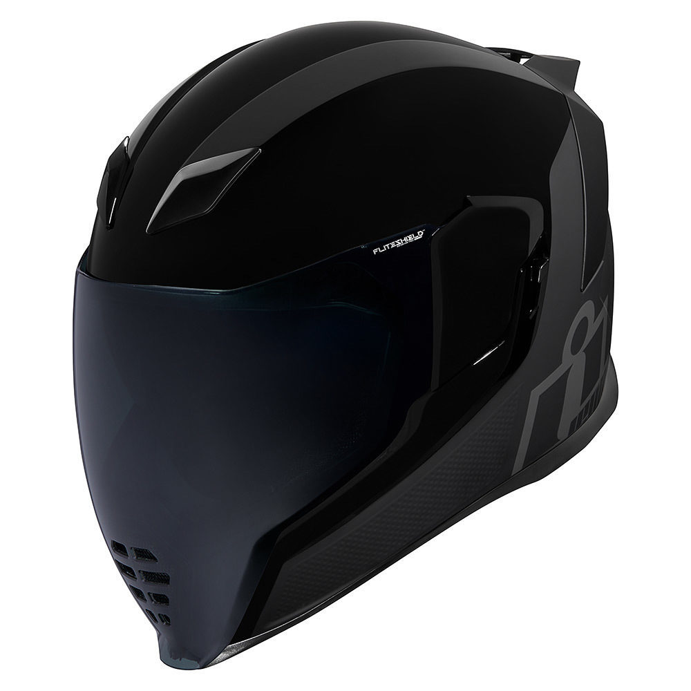 Icon Airflite MIPS Stealth motorcycle helmet black